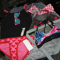Nwt Girls X-Small (4-5) Old Navy & Gap  Miscellaneous Swimsuit Pieces Qty 5 Xs Photo