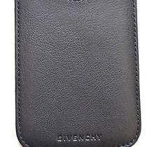 Nwt Givenchy Black Leather Iphone Case Photo