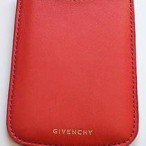 Nwt Givenchy Red Leather Iphone Case Photo