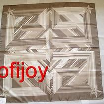 Nwt Givenchy Silk Twill Scarf Large 34