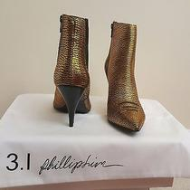 Nwt Gold 3.1 Phillip Lim Delia Chelsea Boot (Sz. 40) Photo