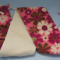 Nwt Good Kids by Life Is Good Girls Reversible Fleece Scarf Rose/fuchsia One Sz Photo