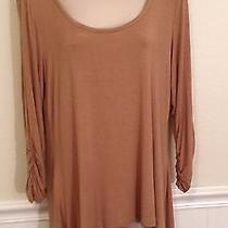 Nwt Grace Elements Size Large Light Weight Knit Top Shirt Photo