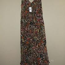 Nwt Grace Elements Summer Dress Medium Multi-Colored Photo