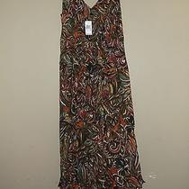 Nwt Grace Elements Summer Dress Medium Multi-Colored Photo