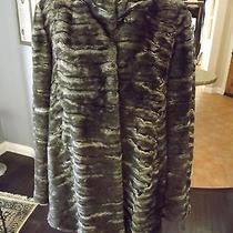 Nwt Graham & Spencer Size  Small Faux Fur Jacket  468 Fun Fun Fun Photo