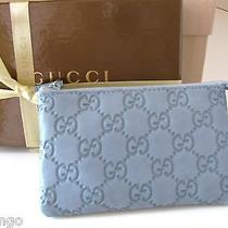 Nwt Gucci Guccissima Leather Coin Card Purse  Gift Box Photo