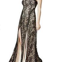 Nwt Guess Alina Sleeveless Black Lace Maxi Dress Sz Small Open Back New Photo