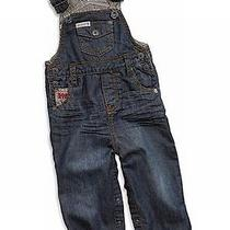 Nwt Guess Baby Overalls Baby Boys Stripe Trim Overall - 12m Photo