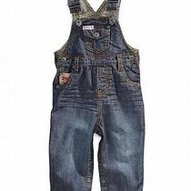 Nwt Guess Baby Overalls Baby Boys Stripe Trim Overall - 18m Photo