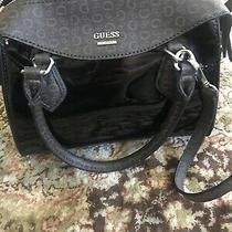 Nwt Guess Black Patent Shiny Purse Photo