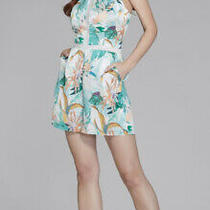 Nwt Guess by Marciano Womens Lost in Paradise Halter Romper Sz S 158 Photo