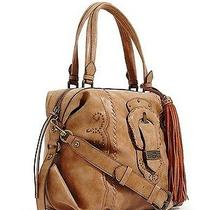 Nwt Guess Cognac Nashville Lulu Satchel Photo