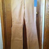 Nwt Guess Collection Leather Rocker Pants Jeans Beige Size 4 Photo