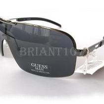 Nwt Guess Mens Sunglasses Gu6400 Gun/gray 65.00 Photo