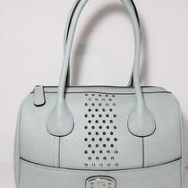 Nwt Guess Mint Lace Satchel Photo