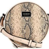 Nwt Guess Simmons Handbag Snake Round Case Logo Crossbody Shoulder Bag Genuine Photo