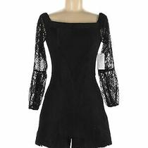 Nwt Guess Women Black Romper M Photo
