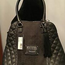 Nwt Guess Womens Black Purse With Tassel Photo