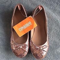 Nwt Gymboree Blushing Swan Pink Glitter Sparkle Dress Shoes 12 Photo