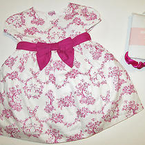Nwt Gymboree Bonjour Bebe Floral Dress & Ruffle Tights Girls 0-3 Months New Photo