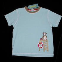 Nwt Gymboree Boys Surf Camp Aqua Blue Lifeguard Puppy Dog Shirt Size 3t Vhtf Photo