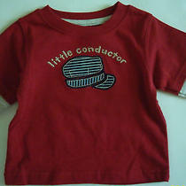 Nwt Gymboree Holiday Express Little Conductor Shirt 3 6 Photo