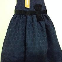 Nwt Gymboree Holiday Shine Blue Dress 3t Photo