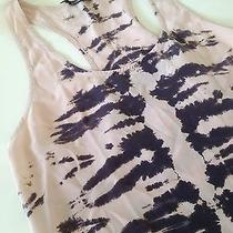 Nwt Gypsy 05 Tie-Dye Tank Nwt 120 Racerback Top Hi-Lo Silk M Photo