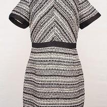 Nwt h&m Black and White Tweed Dress Size 12 49.99 Photo