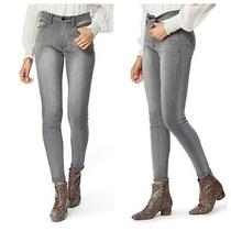 Nwt Habitual Cressa High Rise Ankle Skinny Stretch Jeans Ash Grey Gray 25 0 158 Photo