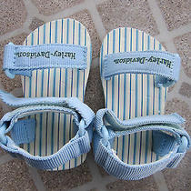 Nwt  Harley Davidson Baby Blue Baby Sandals Photo