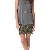 Nwt Haute Hippie Junk Sequin Beaded Pencil Skirt 495 Size Medium Photo