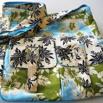 Nwt Heidi Dobrott Sun n' Sand Floral Beach Shoulder Tote Diaper Bag Mothers Day Photo