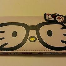 Nwt Hello Kitty Leather Clutch  Wallet by Sanrio Loungefly Claire's Store Photo