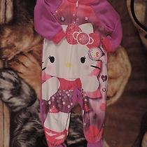 Nwt Hello Kitty Size 18 Months Footed Pajamas Sleepware Sanrio Photo