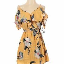 Nwt Hint of Blush Women Yellow Casual Dress S Photo