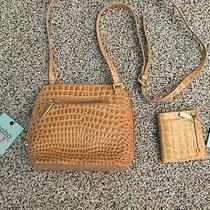 Nwt Hobo Camilla Tan Patent Leather Crossbody W/matching Gia Bifold Wallet Photo