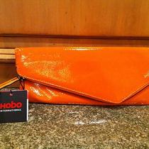 Nwt Hobo International Effe Apricot Patent Leather Bag Purse Clutch Msrp 118  Photo
