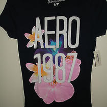 Nwt Hot Aeropostale Tee Shirt High End Babydoll  School Vacation  Size Small 25 Photo
