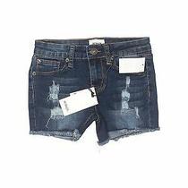 Nwt Hudson Girls Blue Denim Shorts 12 Photo