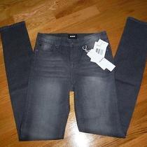 Nwt Hudson Graphite Gray Jeans Skinny Sz 12 Kids Photo