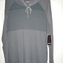 Nwt Hurley Blockade Men's Lightweight Hoodie Gray Pullover Size Xl 40 Photo