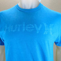 Nwt Hurley Graphic Logo Premium Fit T-Shirt Turquoise Size Small Photo