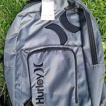 Nwt Hurley Laptop Backpack Gray Authentic Photo