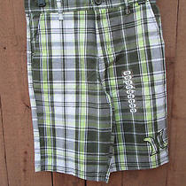 Nwt Hurley Size 12 Plaid Shorts  Photo