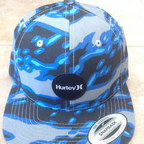 Nwt Hurley the Classic Snapback Flmmo  Adjustable  Osfa Hat  Photo