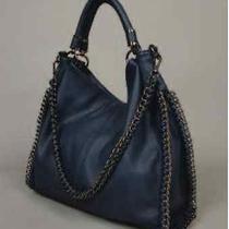 Nwt Imoshion Vegan Luxury Handbag - Winnie (Blue) Photo