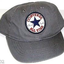 Nwt Infant Gray Converse Adjustable Hat Photo