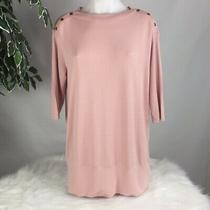 Nwt Isabel Maternity Blush Top Pink Women's Size Small Photo